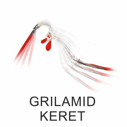 Rugalmas és rendkívül erős Grilamid keret
